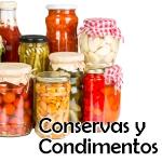 Conservas y condimentos
